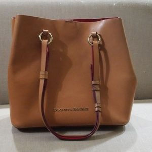 Dooney and Bourke handbag and wristlet bundle